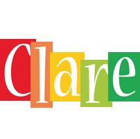 Clare colors logo