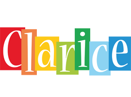 Clarice colors logo