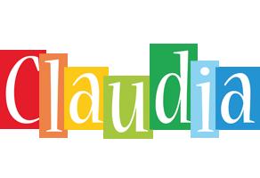 Claudia colors logo