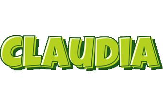 Claudia summer logo