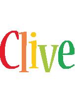 Clive birthday logo