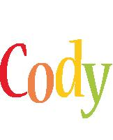 Cody birthday logo