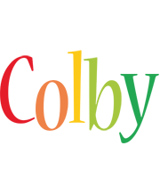 Colby birthday logo
