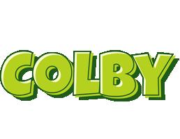 Colby summer logo