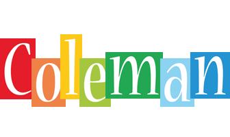 Coleman colors logo