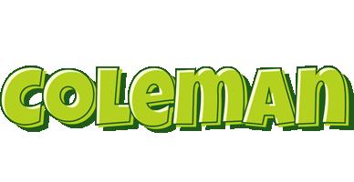 Coleman summer logo