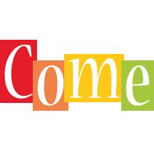 Come colors logo