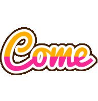 Come smoothie logo