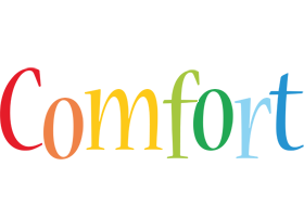 Comfort birthday logo
