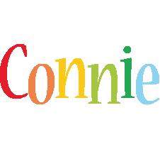 Connie birthday logo