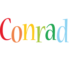 Conrad birthday logo