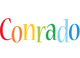Conrado birthday logo