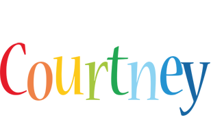 Courtney birthday logo