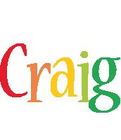 Craig birthday logo