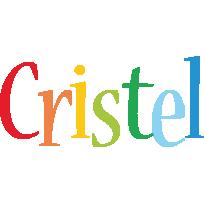 Cristel birthday logo