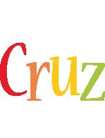 Cruz birthday logo