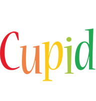 Cupid birthday logo