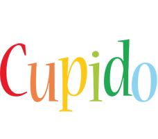 Cupido birthday logo