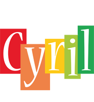 Cyril colors logo