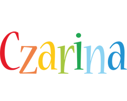 Czarina birthday logo