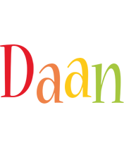Daan birthday logo