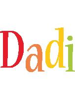 Dadi birthday logo