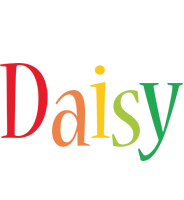Daisy birthday logo