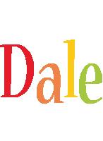 Dale birthday logo