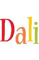 Dali birthday logo