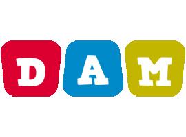 Dam kiddo logo