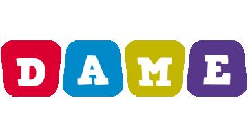 Dame kiddo logo