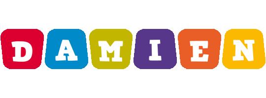 Damien kiddo logo