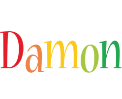 Damon birthday logo