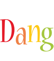 Dang birthday logo