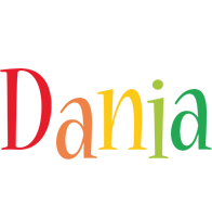 Dania birthday logo