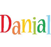 Danial birthday logo