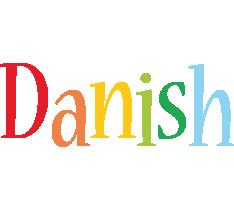 Danish birthday logo