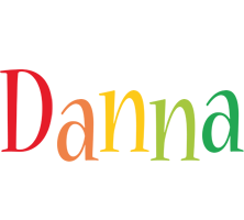 Danna birthday logo