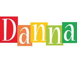 Danna colors logo