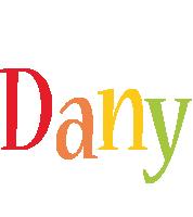 Dany birthday logo