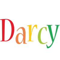Darcy birthday logo