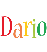 Dario birthday logo