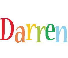 Darren birthday logo