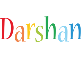 Darshan birthday logo