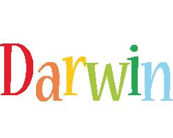 Darwin birthday logo