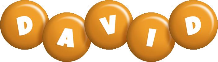David candy-orange logo
