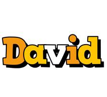 David cartoon logo