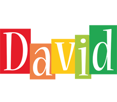 David colors logo