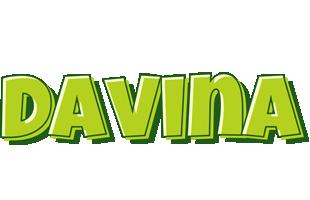 Davina summer logo