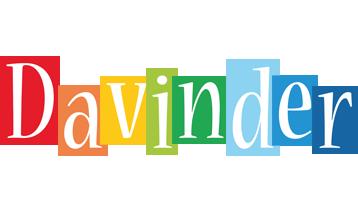 Davinder colors logo
